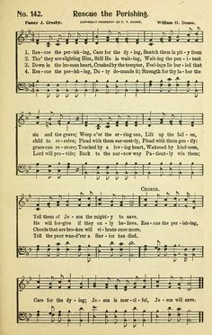 Rescue the Perishing - Hymnary.org