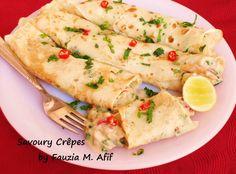 Savoury Crêpes...look yummy