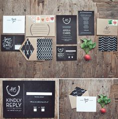 Foodie Wedding Invitations by Yours is the Earth | Green Wedding Shoes Wedding Blog | Wedding Trends for Stylish   Creative Brides