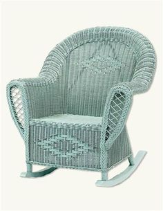 Lucy Vincent Wicker Rocker ~ $895