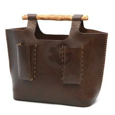 Leather -- interesting carry bag
