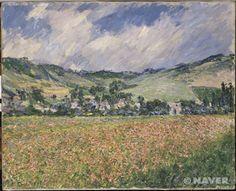 개양귀비밭 (지베르니 부근) (Le champ des coquelicots (environs de Giverny).)
