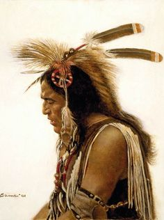 ☆ Pow-wow Singer :¦: By Artist James Bama ☆