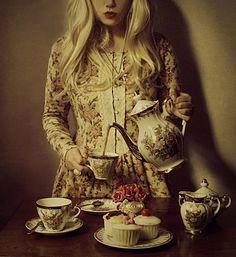 Teatime (explored thank you~!) by JolsAriella, via Flickr
