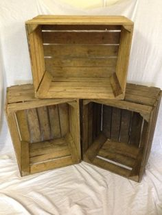 Rustic old vintage apple crates will be set as a display with the Ciders and the flavour fruits and berries.