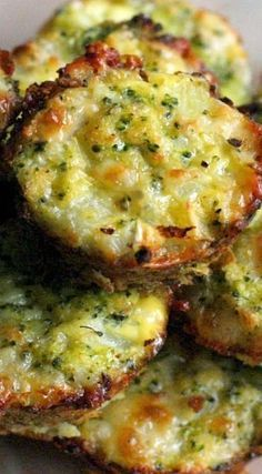 Broccoli Tots ~ a fun and healthy play on tater tots made with finely chopped broccoli in place of potatoes.