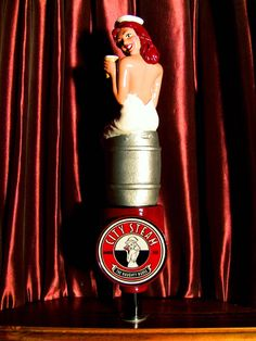 Amazing Tap Handles: Tap Handle #422: City Steam Brewery Cafe - Naughty...