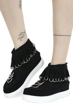 2bc521220ba Current Mood Dead Ringer Platform Sneakers