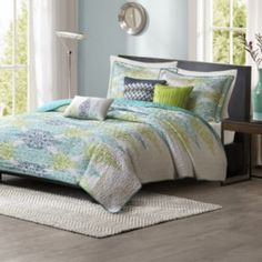 Madison+Park+Largo+6-pc.+Quilted+Coverlet+Set