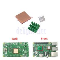3x #aluminum heat #sinks adhesive #cooling kit for raspberry pi 3/2 model b/b+ de,  View more on the LINK: http://www.zeppy.io/product/gb/2/232133336165/