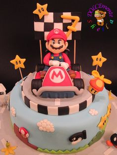 Super Mario Bros - by DOLCEmenteSheila @ CakesDecor.com - cake decorating website