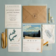 Summer Camp Inspired Wedding Suite | by Imaginary Beast