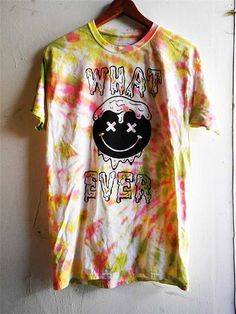 drippy grunge whatever tie dye unisex shirt size by bandedhorn, $12.00