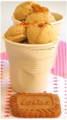 Glace maison aux spéculoos Ice Cream Candy, Make Ice Cream, Vegan Ice Cream, Homemade Butter, Homemade Ice Cream, Cookie Desserts, No Bake Desserts, Cooking Ice Cream, Cuisine Diverse