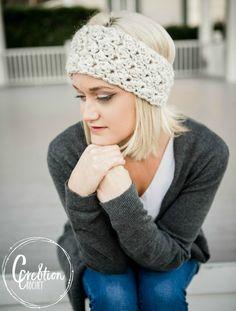 Winter Skies free ear warmer crochet pattern - Cre8tion Crochet