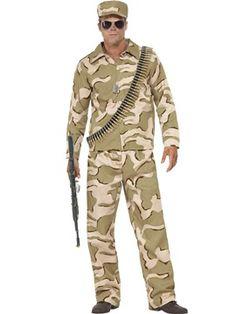 Disfraz de Comandante Militar Adulto