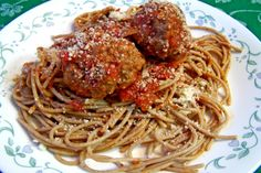 Baked Meatballs ... I added Italian flat-leaf parsley and cooked on parchment paper.