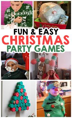 Add some fun to your Christmas party with these simple festive games that the whole family is going to love! Add some fun to your Christmas party with these simple festive games that the whole family is going to love! Christmas Party Games For Kids, Christmas Party Table, School Christmas Party, Xmas Games, Holiday Party Games, Kids Party Games, Christmas Fun, Holiday Fun, Christmas Games For Preschoolers