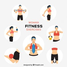 67 best fitness clipart logo images on pinterest vectors
