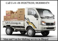 MVLGroup.in: Man and Van for Shifting service in Bhopal Visit us @http://www.mvlgroup.in/