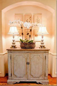 Greige cabinet. South Shore Decorating Blog: 50 Favorite for Friday #117