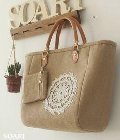 nice handmade tote bag