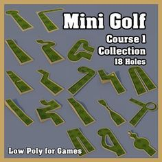 Miniature Golf Courses And Putt Putt Holes Psychedelic Course ...