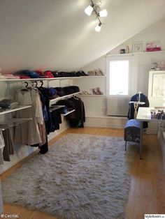 8 Nurturing Clever Tips: Attic Remodel For Kids attic house projects.Attic Closet Built In. Ikea Closet, Attic Wardrobe, Closet Bedroom, Attic Flooring, Remodel, Small Room Bedroom, Remodel Bedroom, Simple Closet, Trendy Bedroom