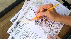 The Crucible Coloring by Number Pages, Three Coloring Sheets to review plot, figurative language, and quotes.