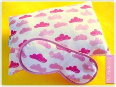 Kit Festa do pijama nuvens rosa