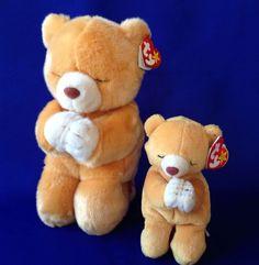 Ty Beanie Buddies & Babies Set Hope Praying Teddy Bear Eyes Closed Pals Tags #Ty