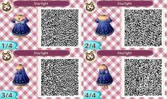 ACNL QR Code: Starlight Dress w/ Pendant