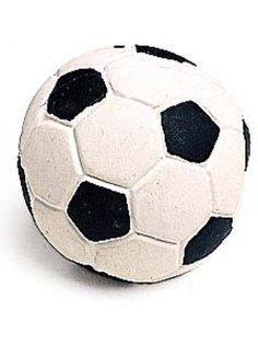 Ethical Pet Products Spot Latex Soccer Ball Squeaker Assorted Durable Dog Toy 2""""