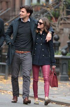 Оливия Палермо и Йоханесс Хьюбл так гармонично смотрятся вместе! Это любовь или врожденное чувство стиля?