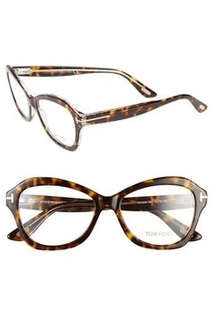 Tom Ford 53mm Optical Angular Eyeglasses