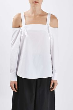 Off-The-Shoulder Shirt by Boutique