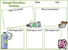 george's marvellous medicine activities - Google Search