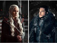 Jonerys | Dany x Jon #GameofThrones Daenerys Targaryen and Jon Snow, Emilia Clarke, Kit Harington, game of thrones season 7