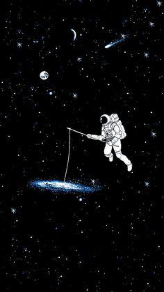 galaxy astronaut Wallpaper by susbulut - - Free on ZEDGE™ Iphone Wallpaper Black, Dark Wallpaper, Tumblr Wallpaper, Galaxy Wallpaper, Wallpaper Backgrounds, Planets Wallpaper, Wallpaper Space, Wallpaper Bonitos, Astronaut Drawing