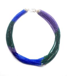 Electric Viridian Necklace ~ Candy Spender Jewels