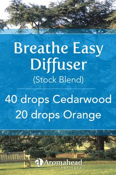 Cedarwood is such a supportive essential oil! This is a great diffuser blend that can also be used in an Aromatherapy Inhaler too!  Simply add 15 drops of this stock blend to an Aromatherapy Inhaler.  Stock blends are convenient! Instead of having to reach for several different essential oils  I'm make this in a 5 ml amber stock bottle.