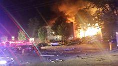 30 personas, incluidos tres bomberos, resultaron heridas el miércoles y de cinco a siete estaban desaparecidas tras un gran incendio en un complejo de apartamentos en Maryland