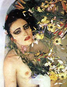Siouxsie Sioux by Adrian Boot, 1981 Siouxsie Sioux, Siouxsie & The Banshees, Mazzy Star, Mark Johnson, Vintage Goth, New Wave, New Romantics, Punk Goth, 80s Goth