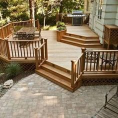 Patio And Deck Design With Furniture , Patio And Deck Design Ideas In  Landscaping And Outdoor