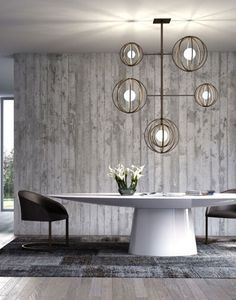 Modern dining area |