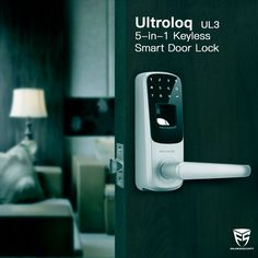 Ultroloq UL3 smart door lock make your life simple and secure