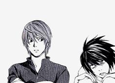 Death Note / L / Kira <<< Kira has a name!!!! Light-sama