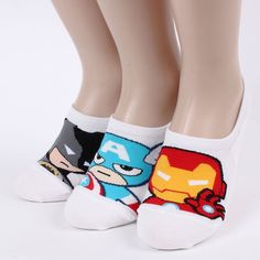Hero loafer 6pairs=1pack women woman invisible footie socks made in korea[USn] #aries #Casual