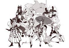 Anime Devil, Anime Angel, Game Character, Character Design, Manga Anime, Anime Art, Latest Anime, Demon Hunter, Slayer Anime