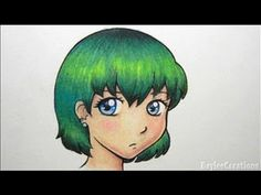 ▶ How to Colour Hair with Pencil Crayons - YouTube